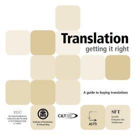Translation - getting it right
